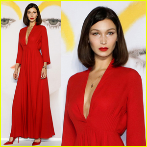 Bella Hadid is a Vision in Red at Dior Event in South Korea