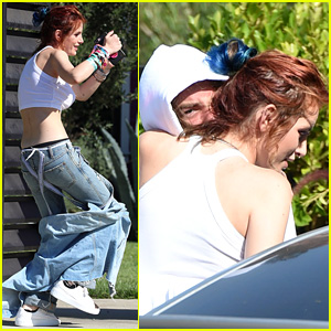 Bella Thorne Busts a Move With Mod Sun Outside Dance Studio