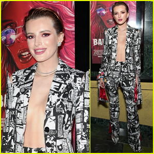 Bella Thorne Ditches Her Bra for 'The Babysitter' Premiere