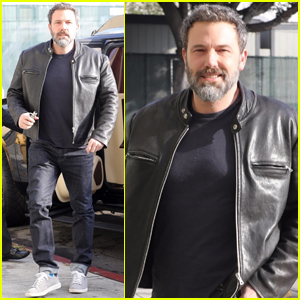 Ben Affleck Is All Smiles After Adopting a New Puppy!