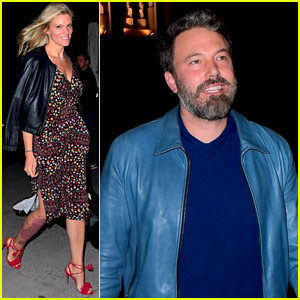 Ben Affleck & Lindsay Shookus Couple Up for 'SNL'!