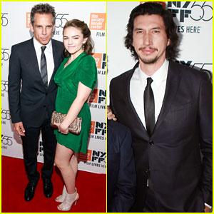 Ben Stiller & Daugther Ella Join Adam Driver & 'The Meyerowitz Stories' Cast at NYC Premiere - Watch Trailer!