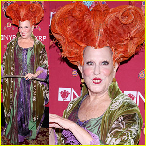 Bette Midler's 'Hocus Pocus' Halloween Costume Was One of the Best Ever!