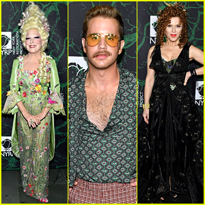 Bette Midler Hosts Broadway's Best at Hulaween Party!