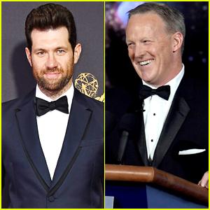 Billy Eichner Reveals No Wanted to Talk to Sean Spicer at Emmys 2017 - Watch!