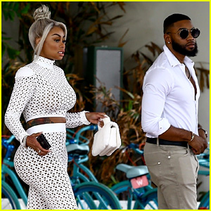 Blac Chyna Shows Off Her Curves En Route to BET Awards 2017