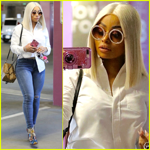 Blac Chyna Shows Off Her Curves in Los Angeles
