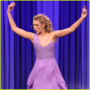 Blake Lively Bangs Up Her Knee During Dance Battle with Jimmy Fallon (Video)