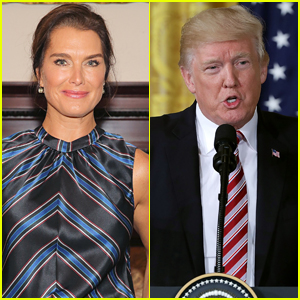 Brooke Shields Reveals the Pickup Line Donald Trump Used to Ask Her Out - Watch!