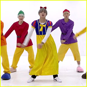 BTS Dress Up as Snow White & The Seven Dwarfs for Dance Practice - Watch!