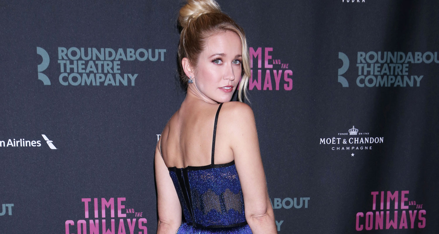 Anna Camp Celebrates Broadway Opening Night of 'Time and ...