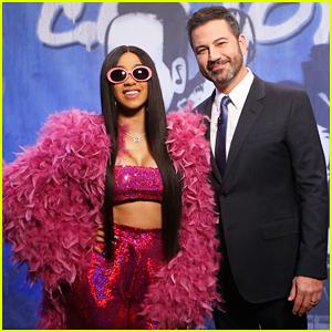 Cardi B Performs 'Bodak Yellow' on 'Jimmy Kimmel Live' - Watch Here!
