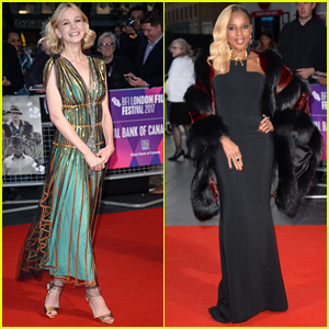 Carey Mulligan & Mary J. Blige Stun at the BFI London Film Festival