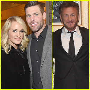 Carrie Underwood & Husband Mike Fisher Support Sean Penn's Haitian Relief Organization