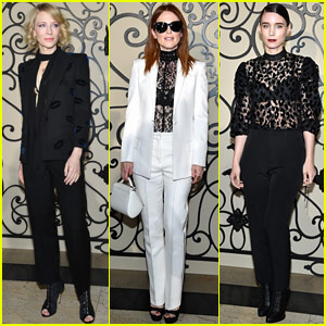 Cate Blanchett, Julianne Moore & Rooney Mara Go Glam for Givenchy!