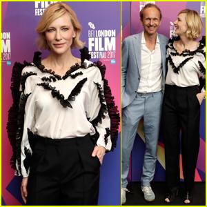 Cate Blanchett Gets Glam For BFI London Film Festival!
