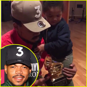 Chance the Rapper Gets Emotional Unpacking Grammy Awards with Daughter Kensli - Watch!