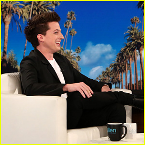 Charlie Puth Breaks Into a Sweat When Ellen DeGeneres Asks Him Who 'Attention' Is About - Watch Now!