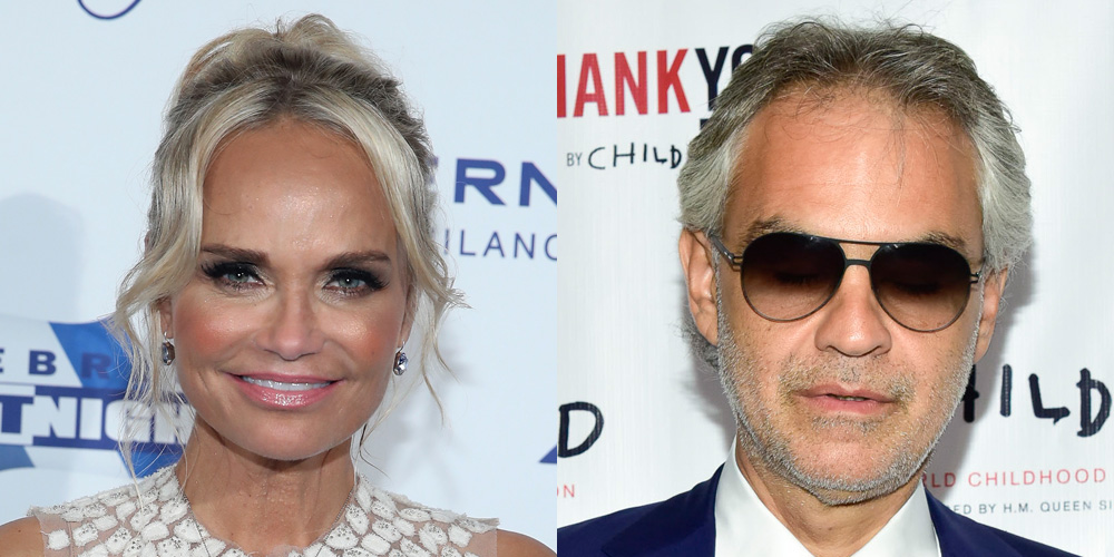 Kristin Chenoweth Joins Andrea Bocelli Tour Dates As Special Guest Performer Andrea Bocelli