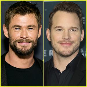 Chris Hemsworth Really Wants to be Chris Pratt - See the Photo!