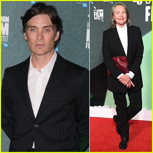 Cillian Murphy Joins Cherry Jones at 'The Party' Premiere in London