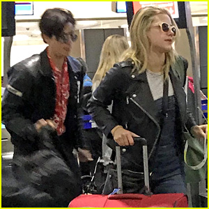 Riverdale's Cole Sprouse & Lili Reinhart Fly Out of Vancouver Together