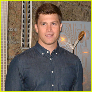 Colin Jost Lights the Empire State Building in NYC!