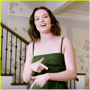 Daisy Ridley Raps Eminem's 'Lose Yourself' - Watch Now!