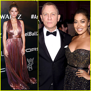 Daniel Craig, Maria Menounos, & La La Anthony Step Out for Angel Ball 2017