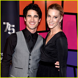 Darren Criss & Heather Morris Have a 'Glee' Reunion on the Red Carpet!