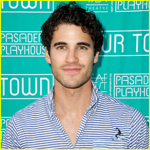 Darren Criss Supports a 'Glee' Co-Star in 'Our Town' at Pasadena Playhouse!