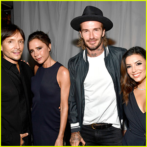 David & Victoria Beckham Launch the New Ken Paves Salon with Eva Longoria!