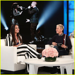 Demi Lovato Addresses Nick Jonas Romance Rumors on 'Ellen'!