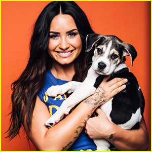 Demi Lovato Answers Fan Questions While Playing with Adorable Puppies - Watch Now!