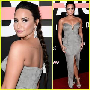 Demi Lovato Shines at the 'Demi Lovato: Simply Complicated' Premiere