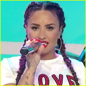 Demi Lovato Performs on 'Today' & Talks Sobriety - Watch Now!