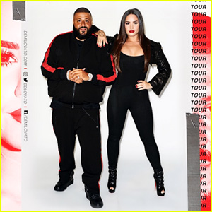 Demi Lovato Announces 2018 North American Tour With DJ Khaled - See the Dates!