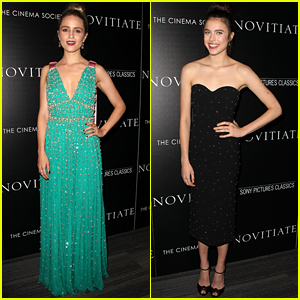 Dianna Agron & Margaret Qualley Stun at 'Novitiate' Screening