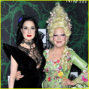 Dita Von Teese Banned From Performing Burlesque at Bette Midler's Halloween Party
