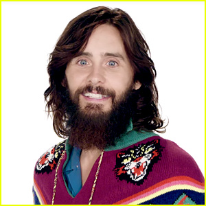 Jared Leto Tries to Figure Out if He's Older or Younger in Photos