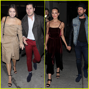 DWTS' Chmerkovskiy Brothers Have a Double Date Night!