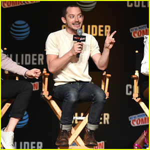 Elijah Wood & 'Dirk Gently' Co-Stars Debut First Episode of Season 2 at NYCC