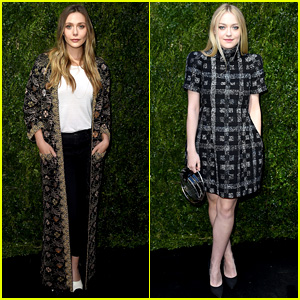Elizabeth Olsen & Dakota Fanning Reunite as Adviors at Through Her Lens Event