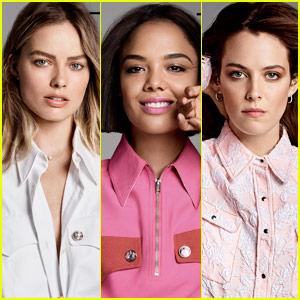 Margot Robbie, Tessa Thompson & Riley Keough Cover Elle's Women in Hollywood 2017!
