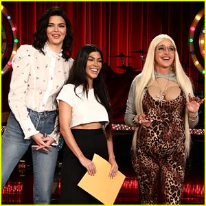 Kourtney Kardashian & Kendall Jenner Shoot Down Karla Kardashian's Pregnancy Rumors - Watch Now!