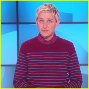 Ellen DeGeneres Delivers Powerful Message on 'Me Too' Movement