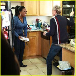 Ellen DeGeneres Takes Oprah Grocery Shopping in Hilarious Video - Watch Here!