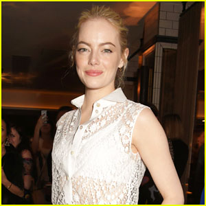 Emma Stone Switches It Up at 'Battle of the Sexes' After Party!