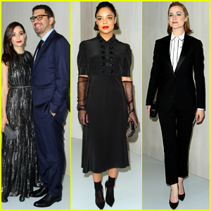 Emmy Rossum Joins Tessa Thompson & Evan Rachel Wood at Hammer Museum Gala