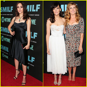Emmy Rossum Supports Frankie Shaw & Connie Britton at 'Smilf' Premiere!